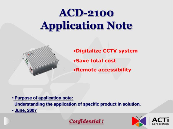 acd 2100 application note n.