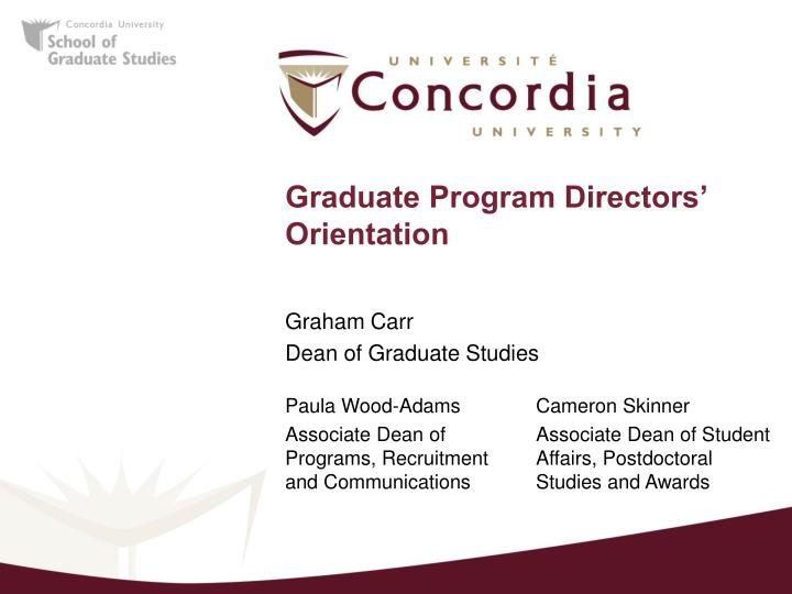Phd thesis concordia