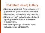 dyktatura nowej kultury1