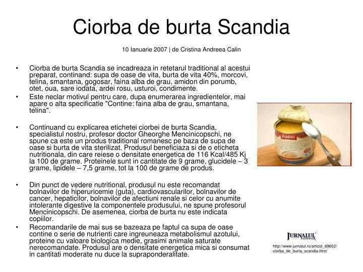 Ciorba de burta Scandia