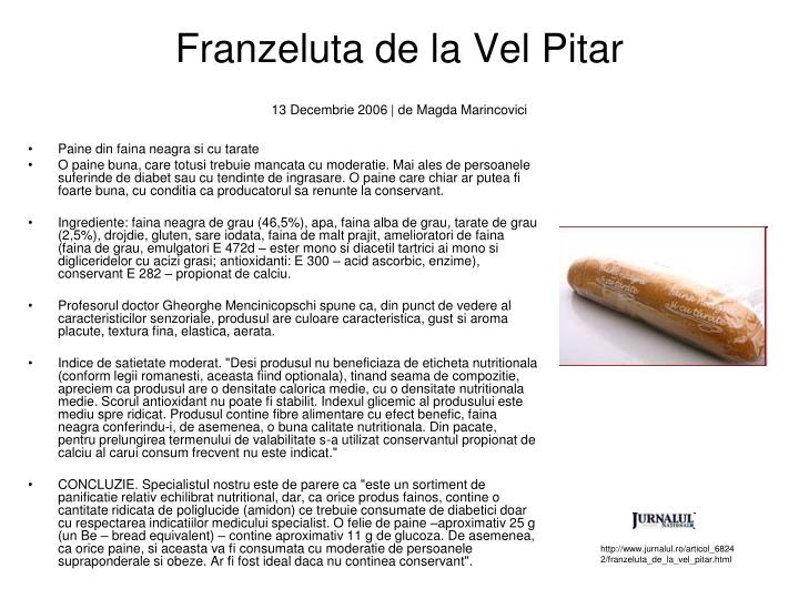 Franzeluta de la Vel Pitar
