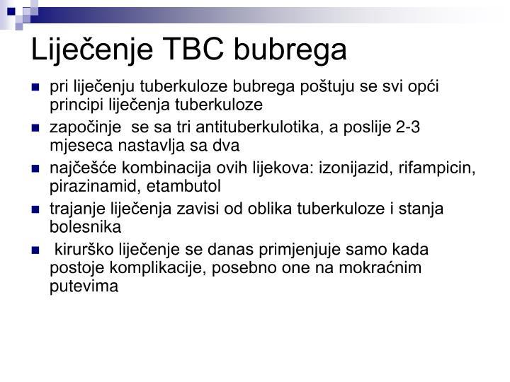 Liječenje TBC bubrega