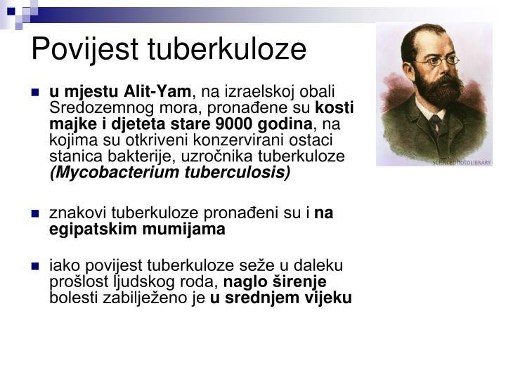Povijest tuberkuloze
