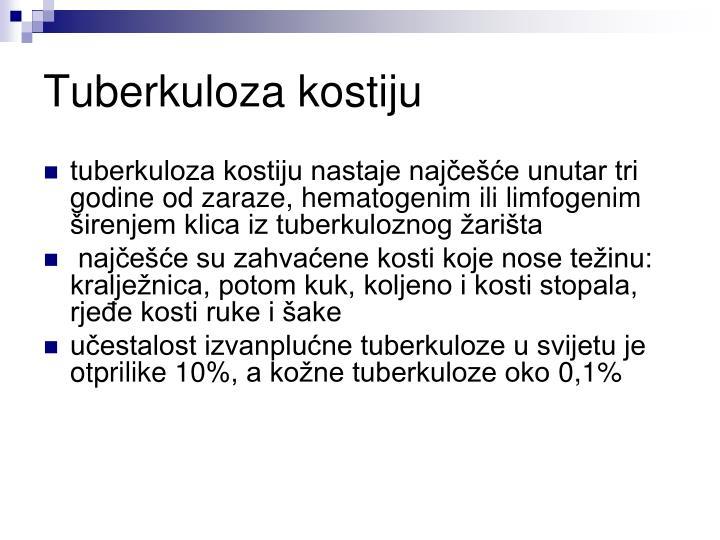 Tuberkuloza kostiju
