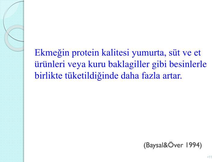 (Baysal&Över 1994)