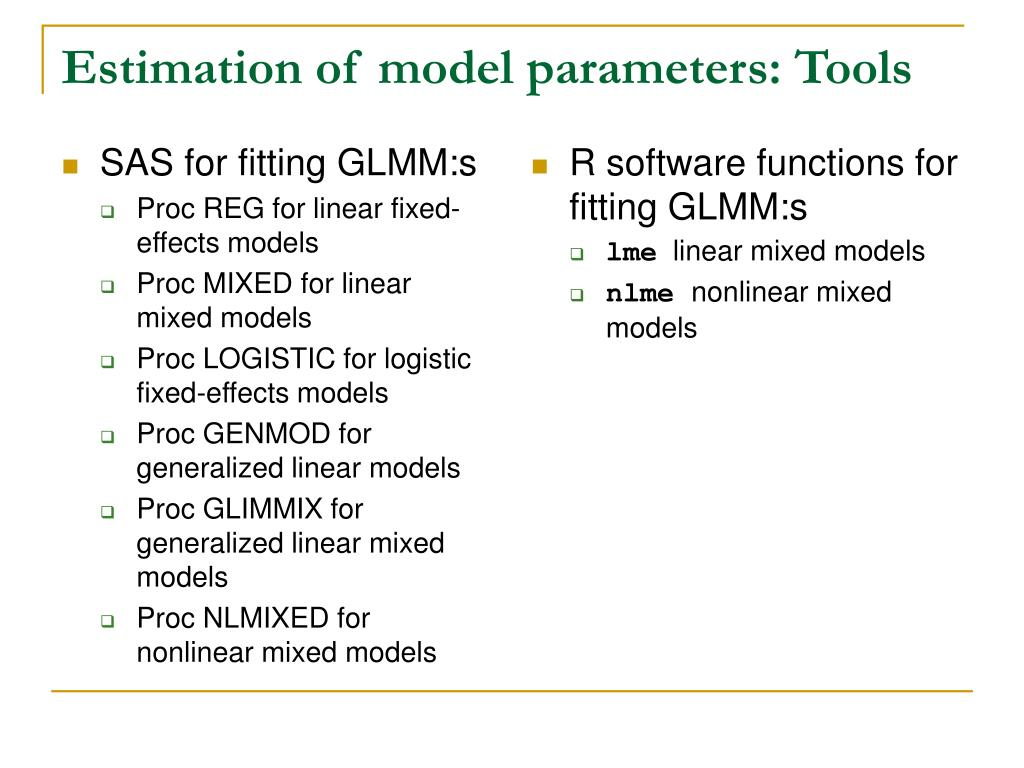 PPT - The role of models in model-assisted and model