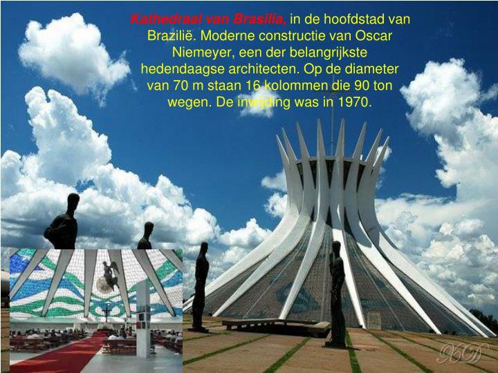 Kathedraal van Brasilia,