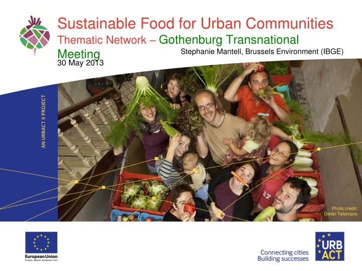 sustainability in the urban environment