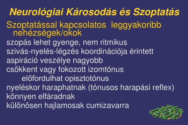 Neurológiai Károsodás és Szoptatás
