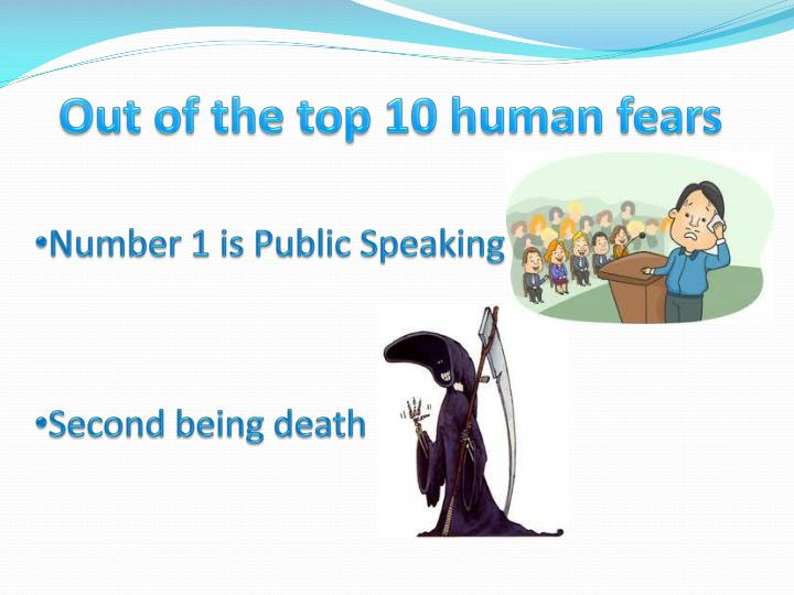Out of the top 10 human fears