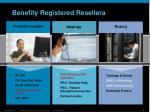 benefity registered reseller a