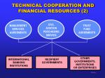 technical cooperation and financial resources 2