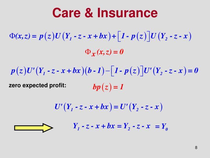 Care & Insurance