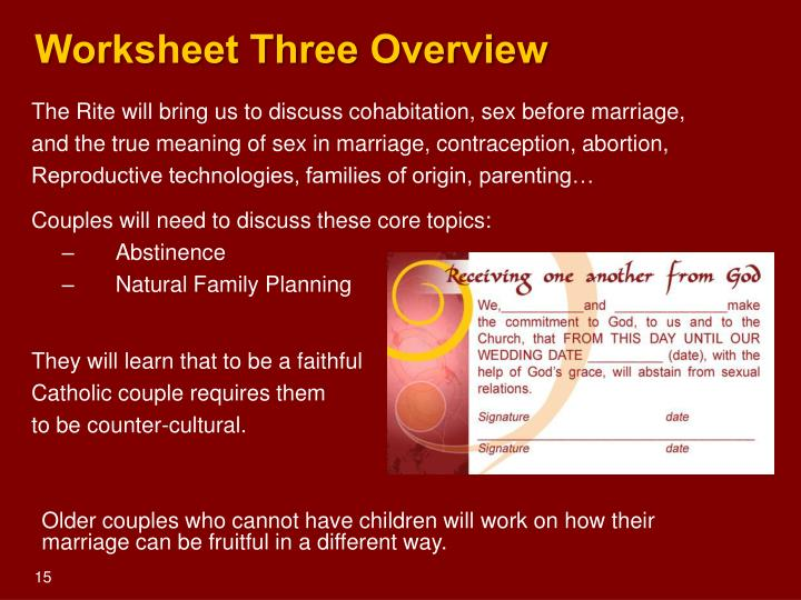Worksheet Three Overview