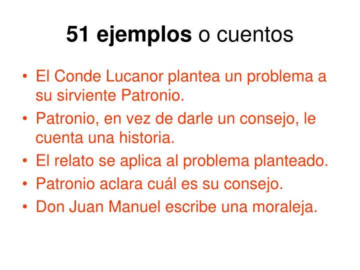 51 ejemplos
