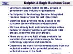 dolphin eagle business case