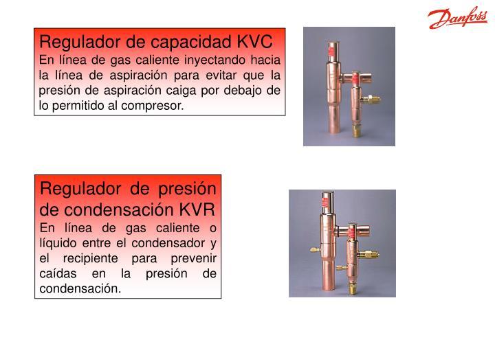 Regulador de capacidad KVC