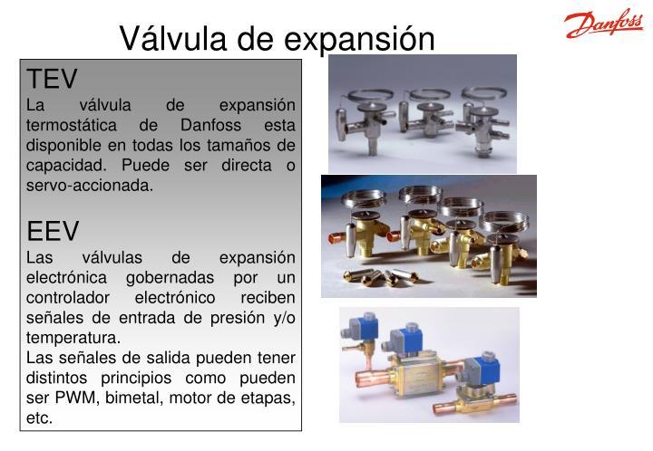 Válvula de expansión