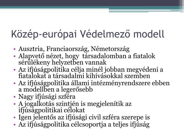 Közép-európai Védelmező modell
