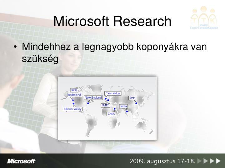 Microsoft Research