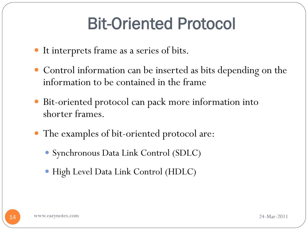 PPT - DATA LINK PROTOCOLS PowerPoint Presentation - ID:4888849