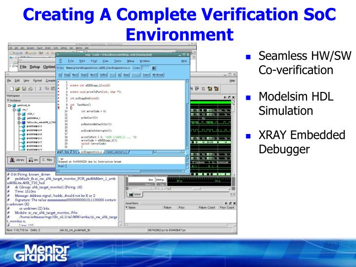 Creating A Complete Verification SoC Environment