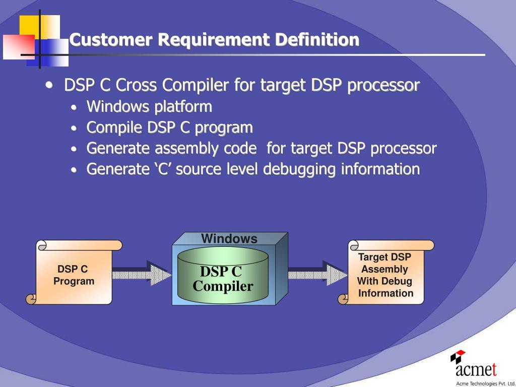 PPT - DSP-C Compiler Development PowerPoint Presentation