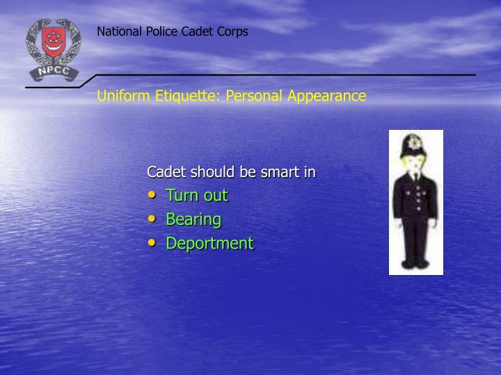 Uniform Etiquette: Personal Appearance