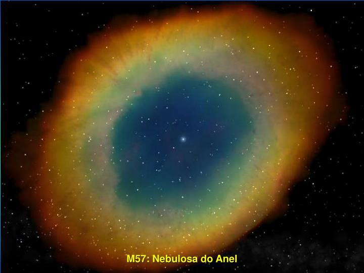 M57: Nebulosa do Anel