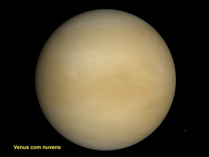 Venus com nuvens
