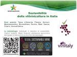 sostenibilit della vitivinicoltura in italia