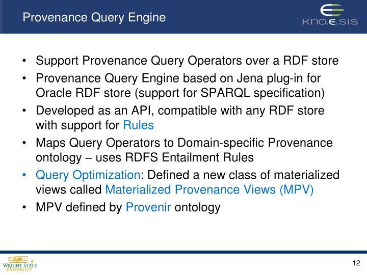 Provenance Query