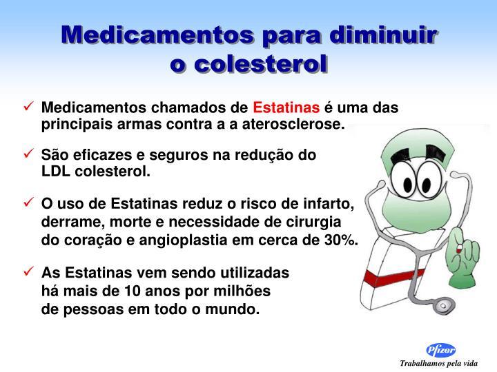 Medicamentos para diminuir