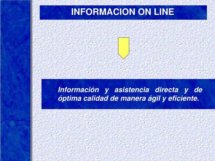 INFORMACION ON LINE