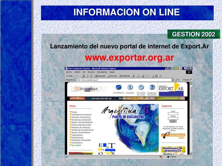 GESTION 2002
