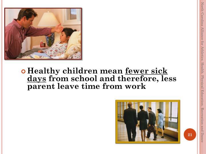 Healthy children mean