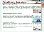 guidelines @ factories act1