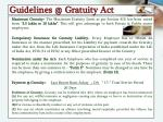 guidelines @ gratuity act1