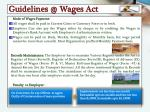 guidelines @ wages act1