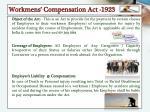 workmens compensation act 1923