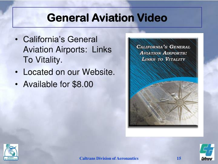 General Aviation Video