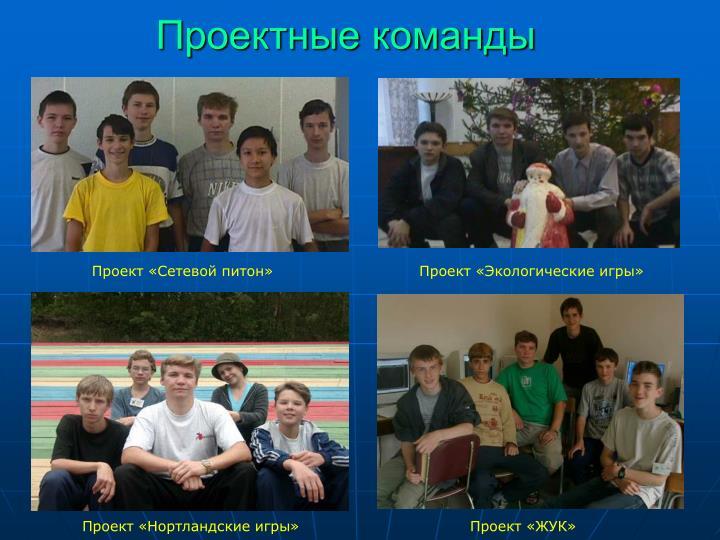 Проектные команды
