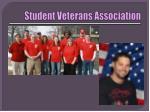 student veterans association