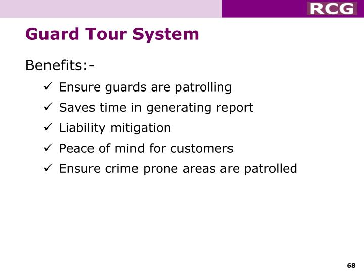 Guard Tour System