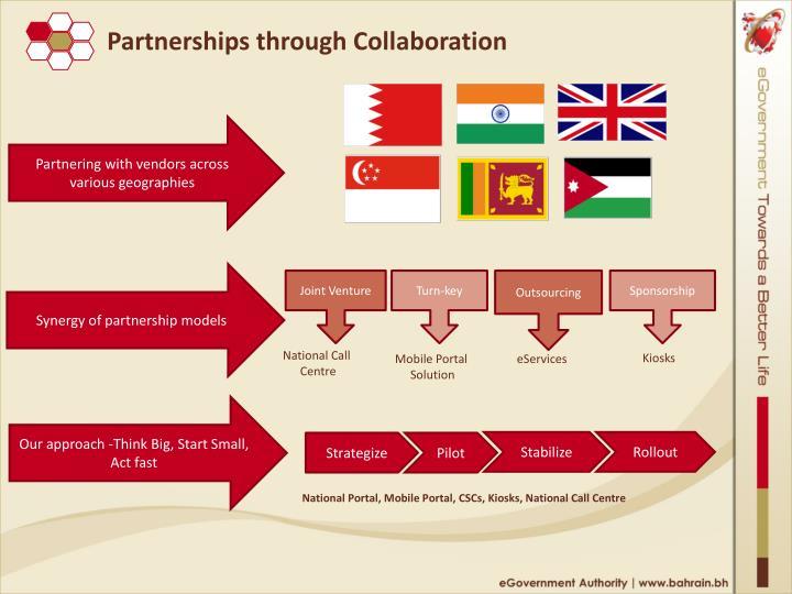 Partnerships through Collaboration