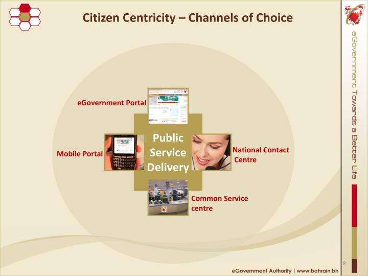 Citizen Centricity – Channels of Choice