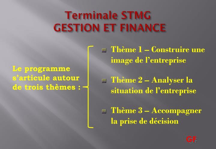 Terminale STMG