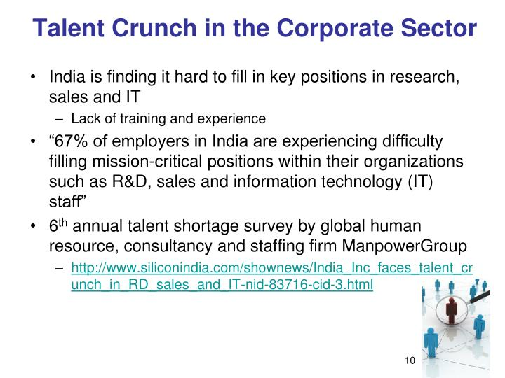 Talent Crunch in the Corporate Sector