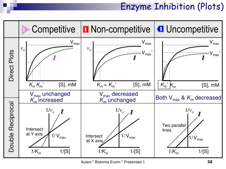 Enzyme Inhibition (Plots)