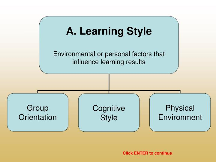 A. Learning Style